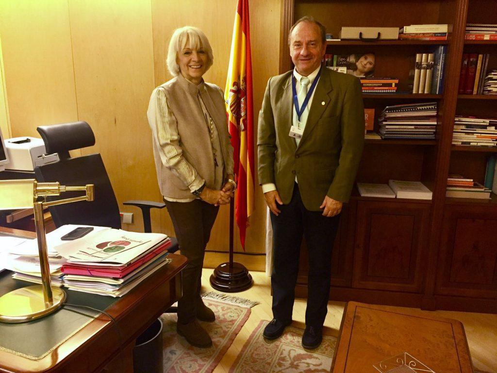 Reunión con la Presidenta de la Comisión de Educación del Congreso