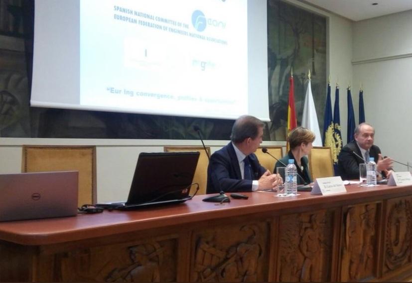 40 aniversario CNE de la FEANI: Eur Ing convergence, profiles & opportunities