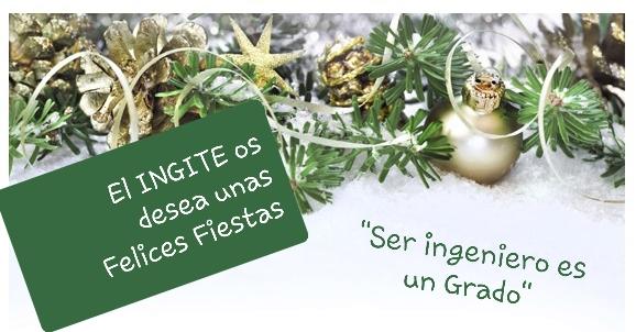 ¡El INGITE os desea unas Felices Fiestas!