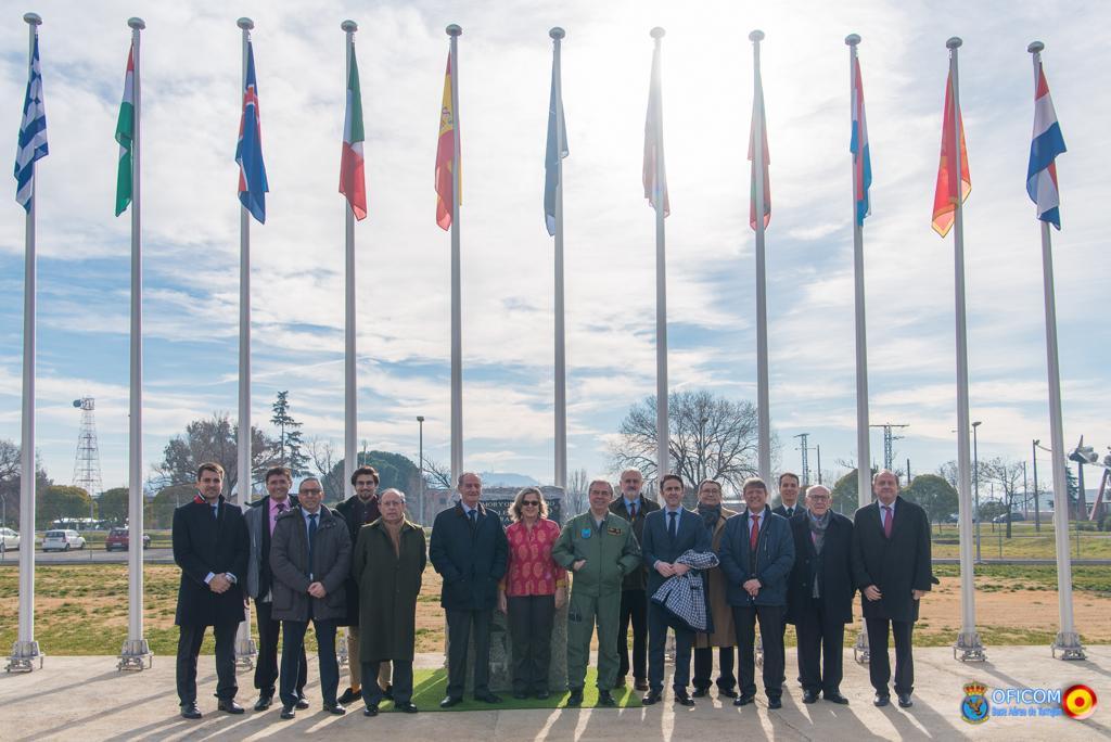 El INGITE visita el Centro de Operaciones Aéreas de la OTAN