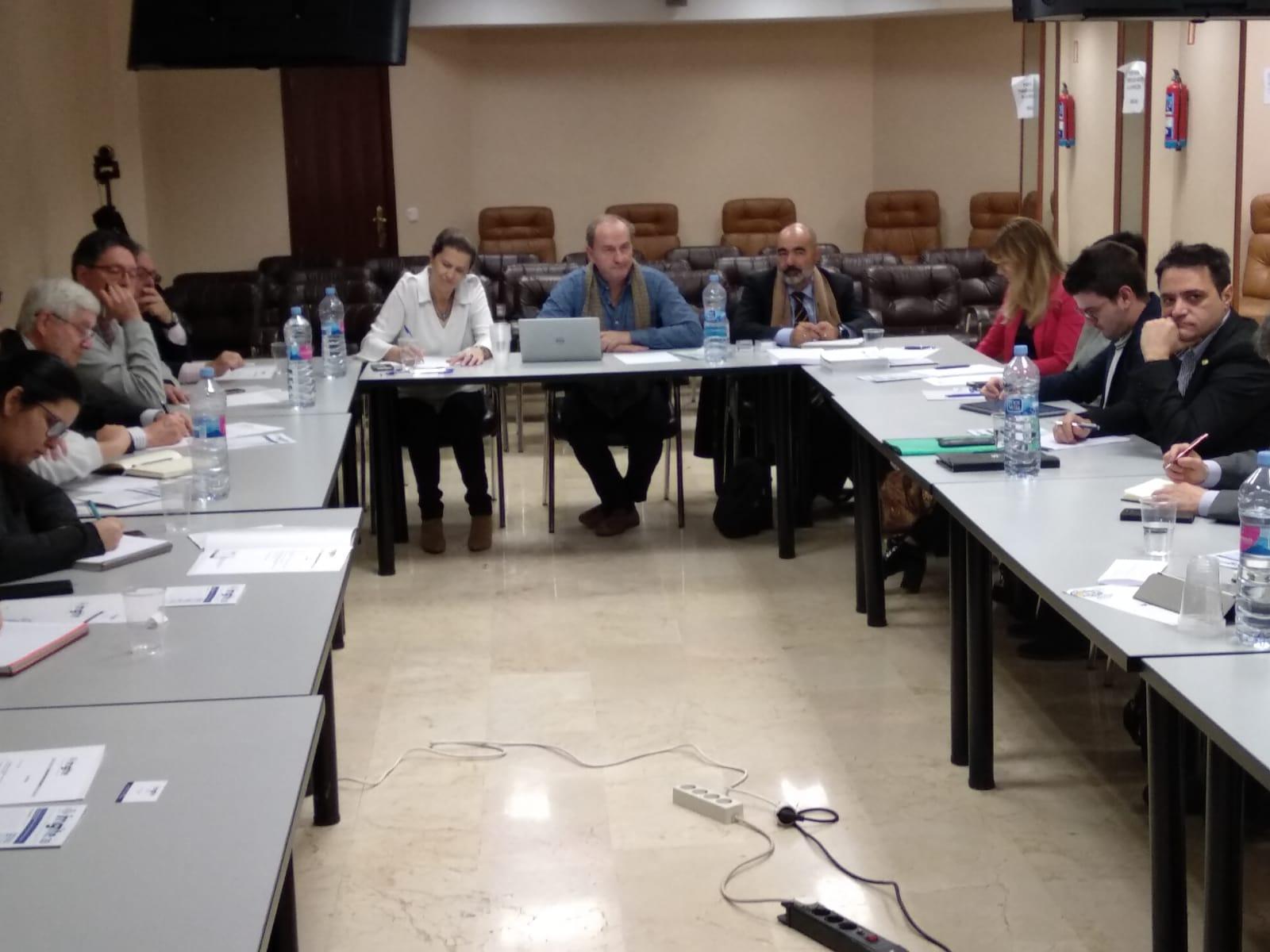 Reunión entre el INGITE y los representantes de estudiantes