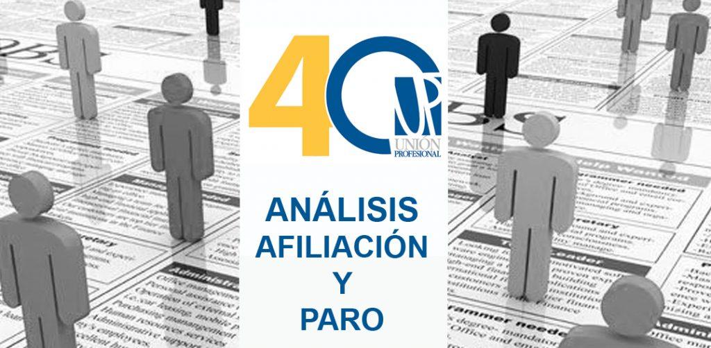 Análisis de Unión Profesional ante la bajada de afiliación en marzo por el COVID-19