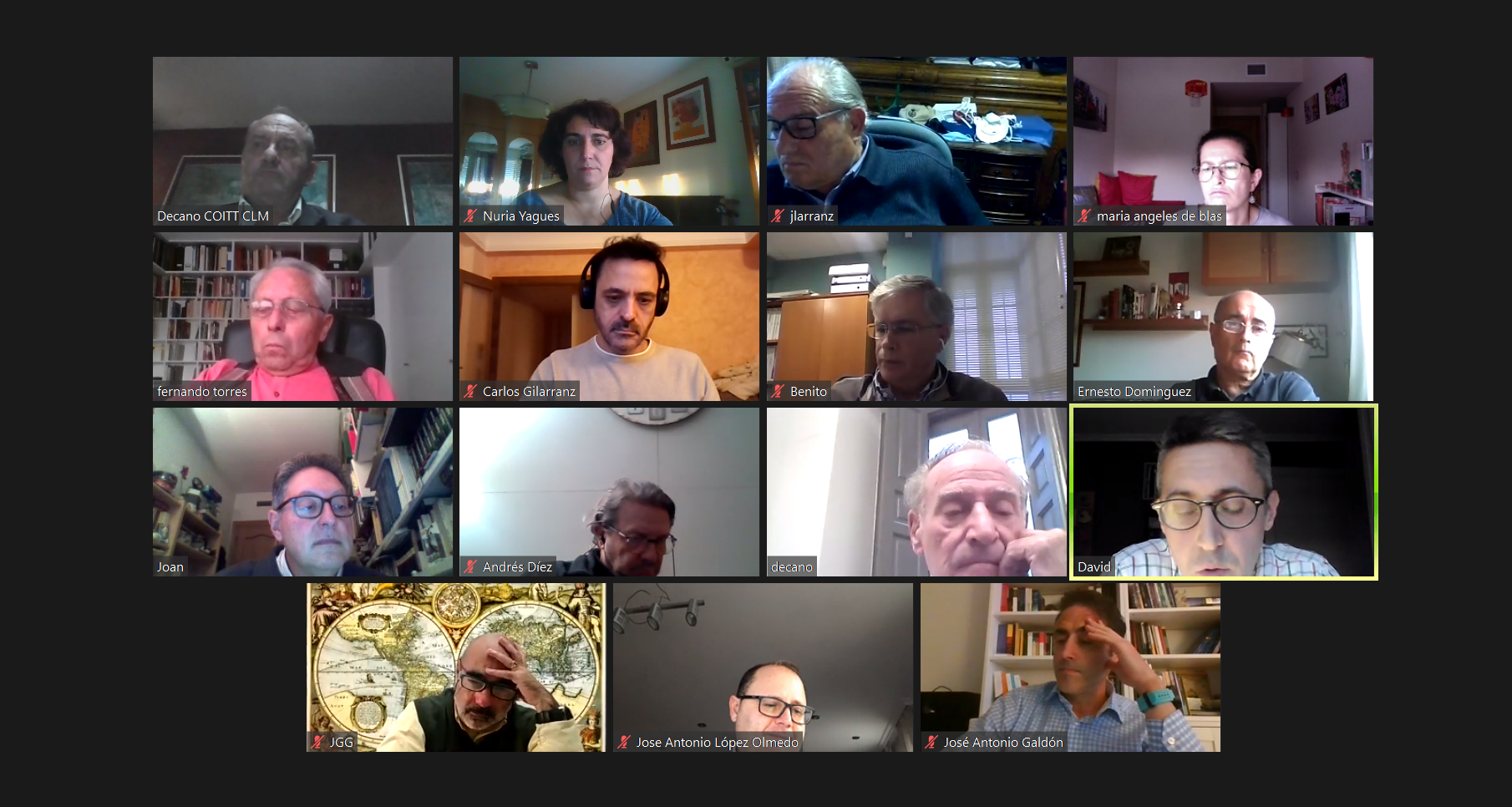 Reunión del INGITE con sus representantes en el CNE de la FEANI