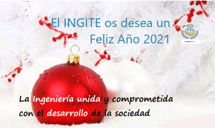El INGITE os desea un Feliz 2021