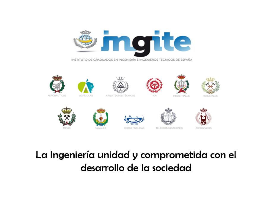¡Sigue en streaming el acto de toma de posesión de la nueva Junta de Gobierno de INGITE!